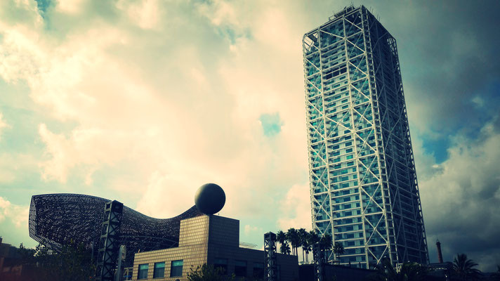 The Fish, The Ball & The Tall Building
