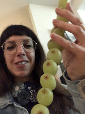 12 grapes to eat right before midnight which each symbolises one wish