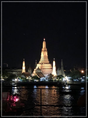 Nighttime and a million dollar view in Bangkok