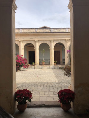 Awesome courtyard in San Cristobal