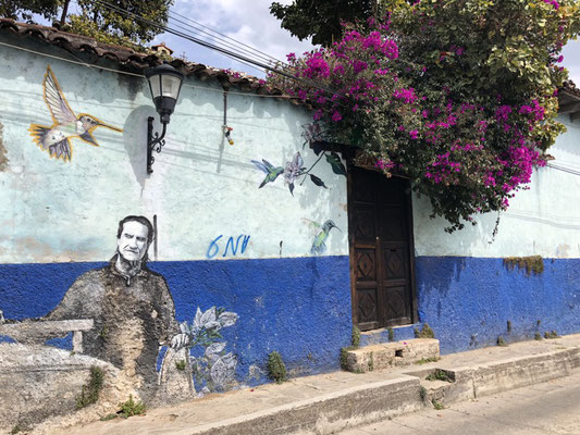 Street art in San Cristobal