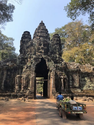 Bayon and its million smiling faces