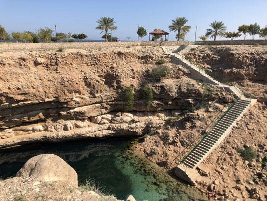 Cenoten in Oman