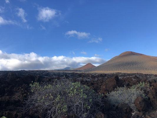 Mountain views from La Restinga on El Hierro