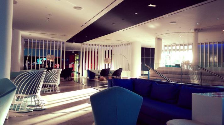 Inside The W Hotel