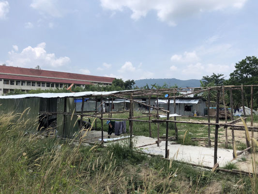 Living conditions for the poor working class in Phuket, Thailand