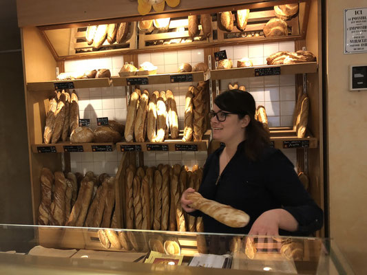 Lorenz and me found the Bakery in a small village called Arpaillargues in Provence, South of France