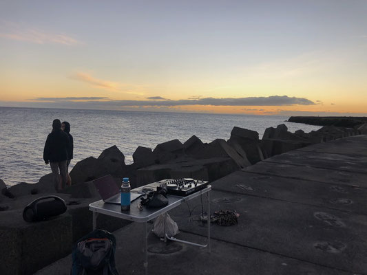 Music time @ La Restinga Sunsets _ El Hierro - winter 2021