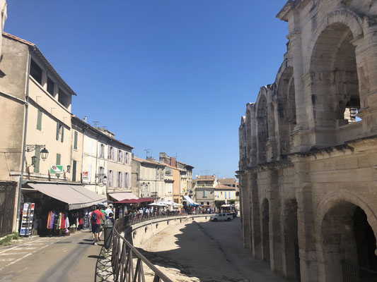 The arena in Arles, Provence (South of France)