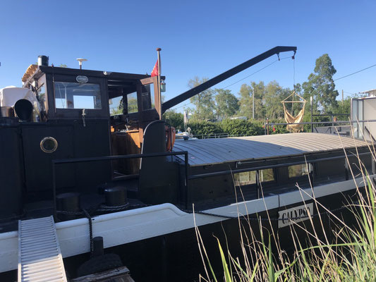 Calypso - Cinny's & Jason's houseboat in Aigues-Mortes, Provence (South of France)