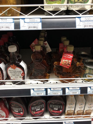 Surprise surprise in a fancy grocery store in Phuket: Canadian maple syrup