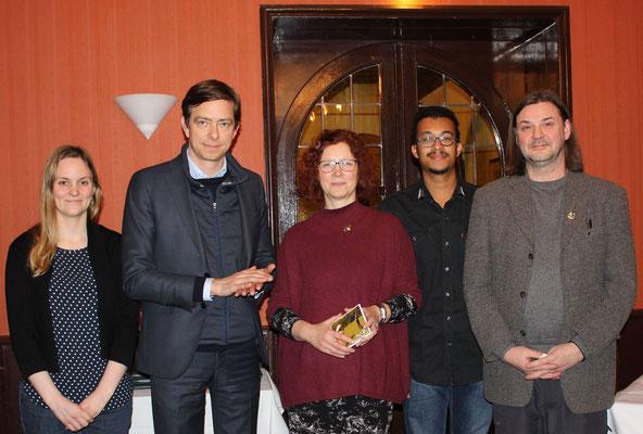 """""""Hotel schwarzer Bär"""" Jena, Treffen mit Lochthofen (MDR)"""