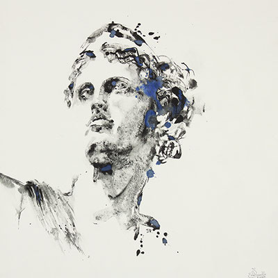 Visage de marbre II - 60x60cm - 2018