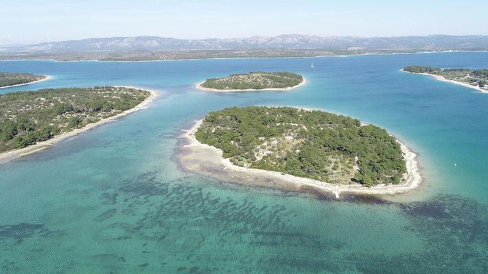 Vorgelagerte Inseln