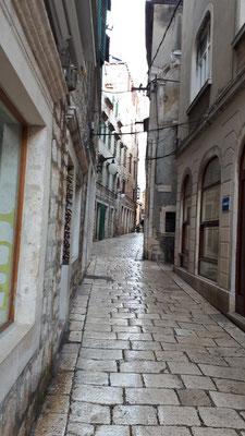 Straßen und Gassen von Sibenik