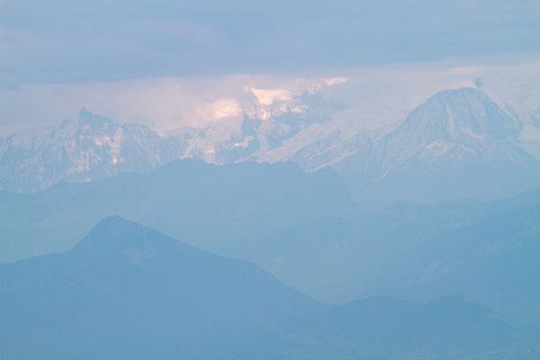 Alpenblick vom Grand Montrond