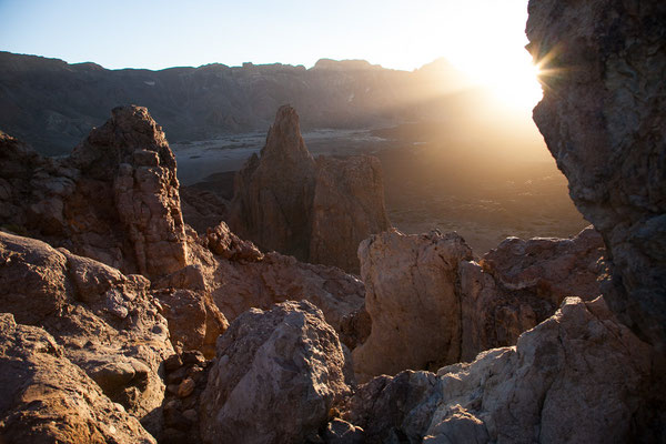 Blick von den Roques de Garcia