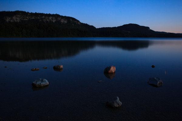 Dämmerung am Lac d´Ilay