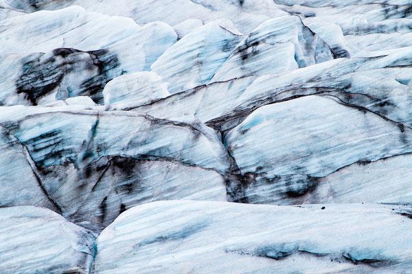 Gletscher-Detail