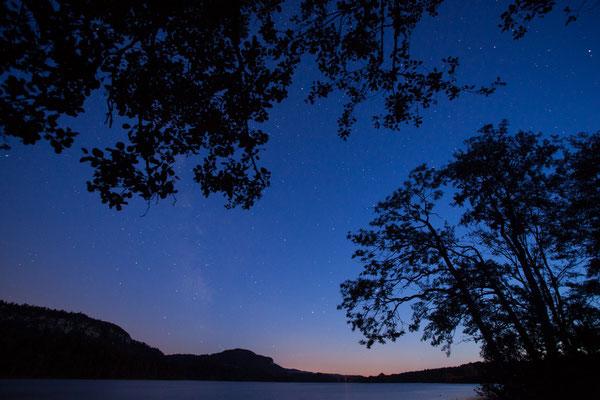 Milchstraße über dem Lac d´Ilay