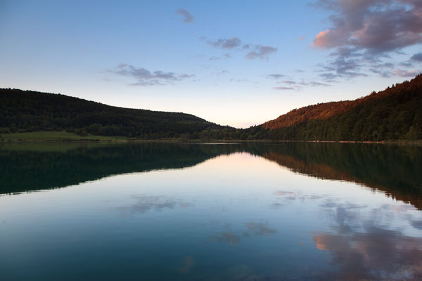 Abendstimmung am Lac de Narlay