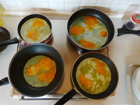 Experimente in den Ferien: Für Ostern perfekt: Wissenschaftliche grüne Spiegeleier