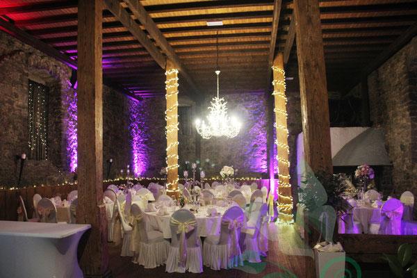 Hochzeit Im Kloster Arnsburg Fantasydeko Hochzeitsdekoration Dekoservice Laubach Lich Giessen Marburg Wetzlar Friedberg Alsfeld