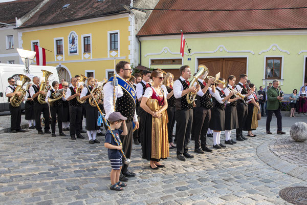 Musikkapelle Gallbrunn in Röschitz