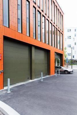 Garagentor Industriegebäude - Hausbau