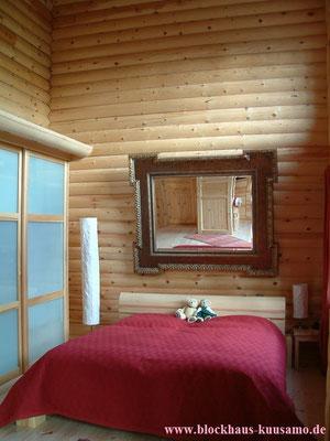 Gästezimmer im Blockhaus