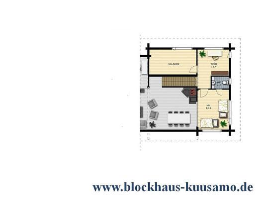 Grundriss - Vorentwurfsplanung -  Entwurfsplanung - Architekt - Bauplanung - Potsdam