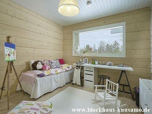Jugendzimmer im Blockhaus
