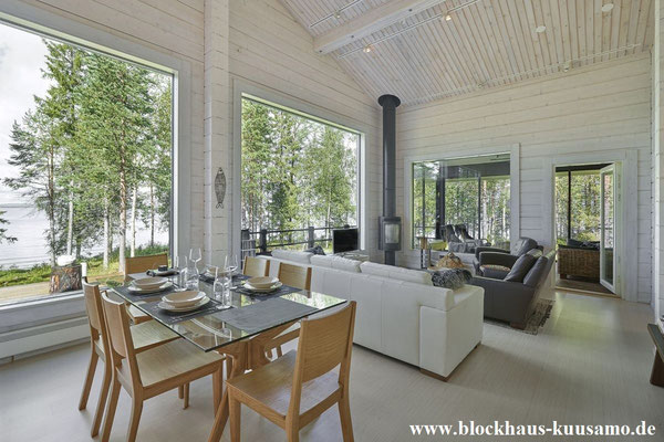 Das Blockhaus einrichten – moderne Architektur und finnisches Design