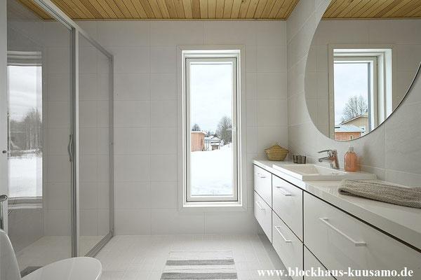 Umkleide im Blockhaus - © Blockhaus Kuusamo