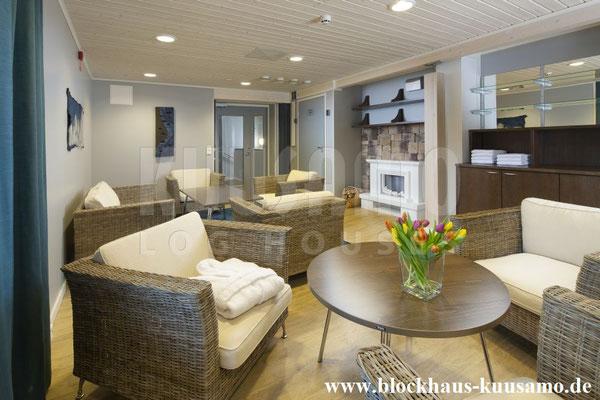 Hotel im Blockhaus - Aufenthaltsraum