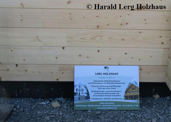 Lerg Holzhaus - Bad Salzschlirf - Bautagebuch