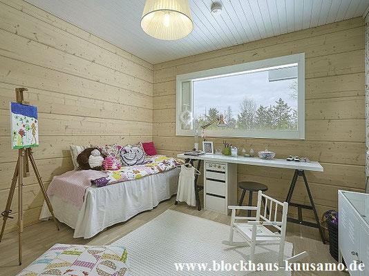 Blockhaus - gesundes Wohnumfeld für Kinder und Erwachsene   -  © Blockhaus Kuusamo