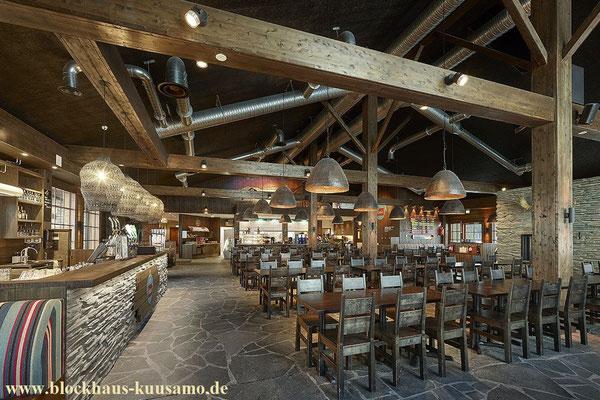 Blockhaus bauen  - Restaurant - Holz Natur pur!