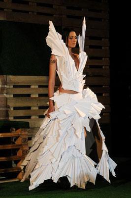 Green Social festival - costume by Flavia Cavalcanti