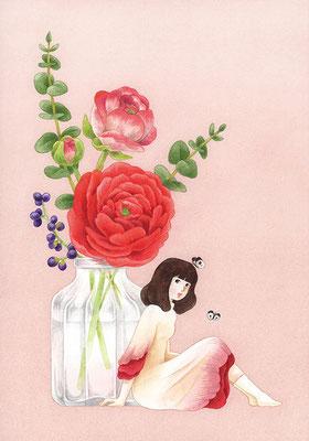 「花のあの子 2」
