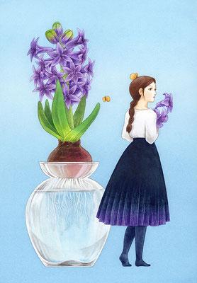 「花のあの子 1」