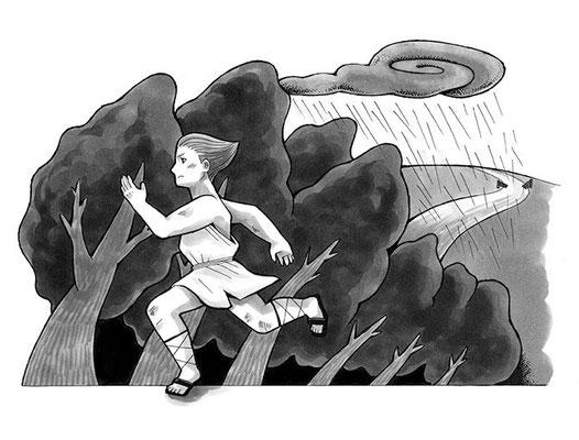 朗読劇「信は真なり おれは信じる」挿絵