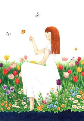 「喜びに咲く」