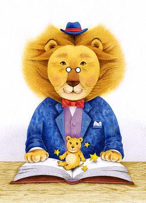「Lion grandpa」