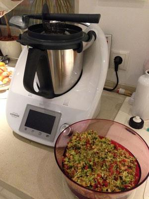 Der erste Brokkolisalat