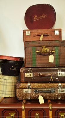 Hutschachteln, Koffer antik, alle Größen