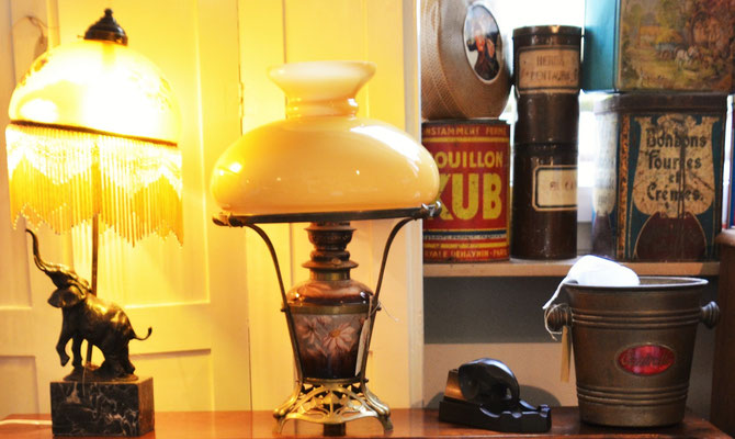 Jugendstillampen, Dosen, Sektkühler