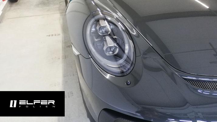 Porsche GT3 Touring Lackschutzfolierung