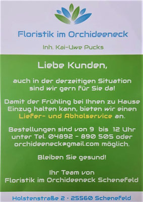 Floristik am Orchideeneck