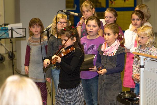 Großer Applaus für Violinensolo